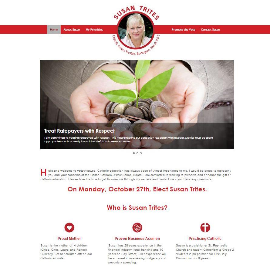 Susan Trites Website